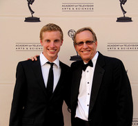 Father and Son on the red carpet