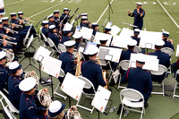 USCG Band Performs at UCCH+GA Graduation